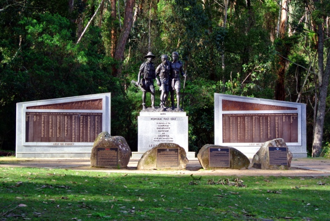 1000 steps Kokoda Memorial
