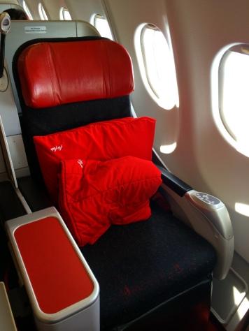 AirAsia X Premium Class Seat