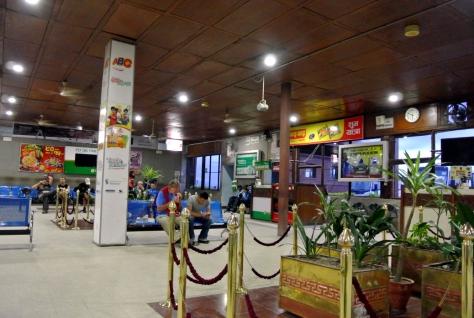 Kathmandu Domestic Airport waiting area
